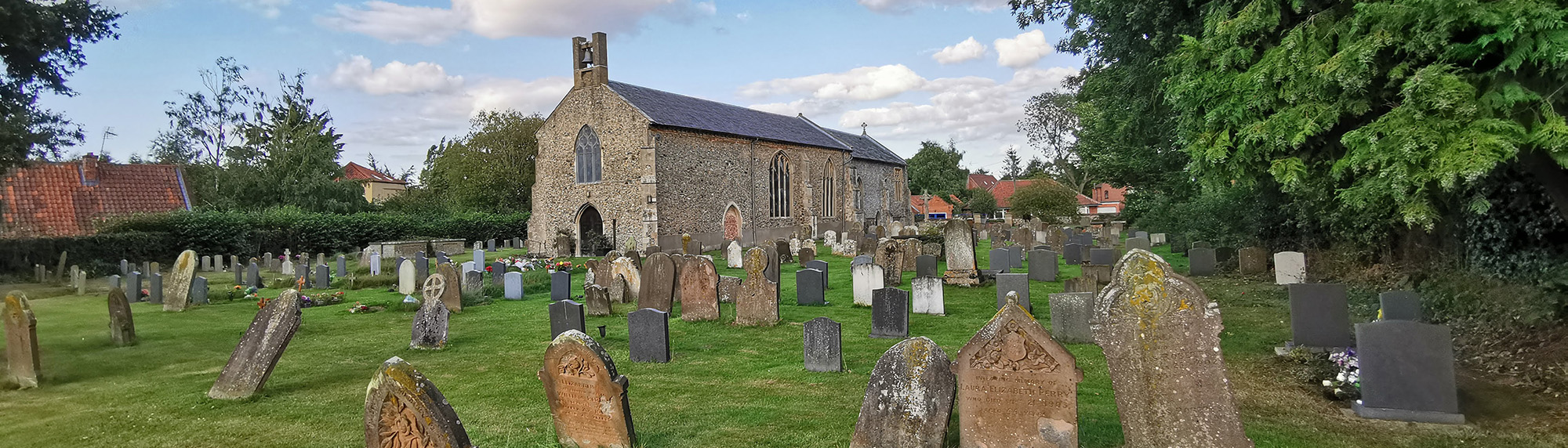 Briston churchyard